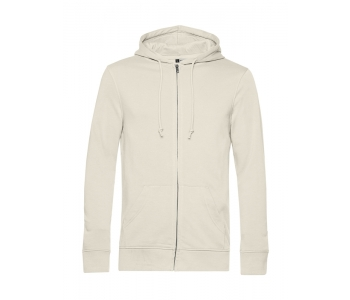 Organic Zipped Hooded meeste pusa