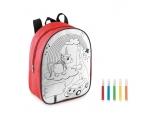 Värvitav seljakott Backsketchy