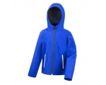 Laste TX Performance Hooded Softshell Jacket