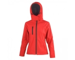 Naiste TX Performance Hooded Softshell Jacket